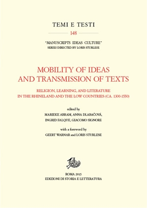 Mobility of Ideas and Transmission of Texts (PDF)