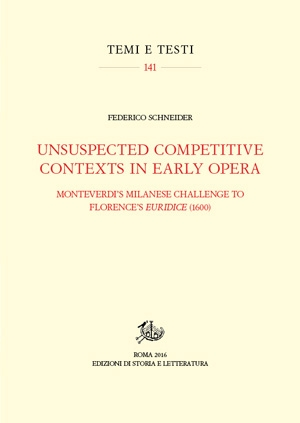 Unsuspected Competitive Contexts in Early Opera (PDF)