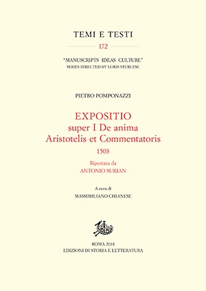 Expositio super I De anima Aristotelis et commentatoris 1503 (PDF)