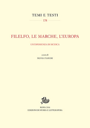 Filelfo, le Marche, l'Europa