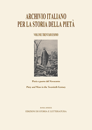 Pietà e guerre del Novecento / Piety and Wars in the Twentieth Century