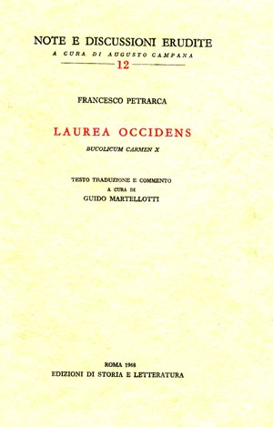 Laurea occidens