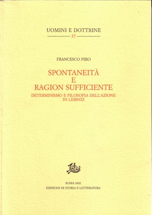 Spontaneità e ragion sufficiente