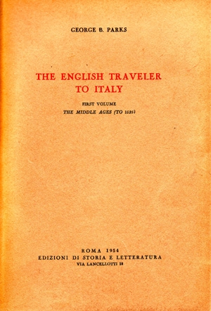 The English Traveler to Italy