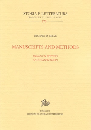 Manuscripts and Methods