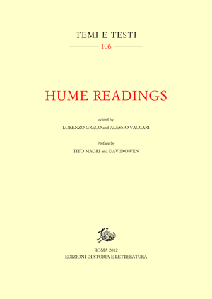 Hume Readings