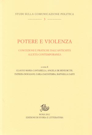 copertina di Potere e violenza