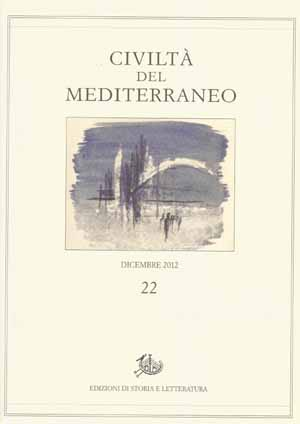copertina di Civiltà del Mediterraneo, 22