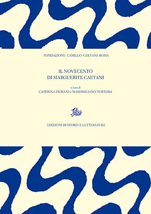 copertina di Il Novecento di Marguerite Caetani