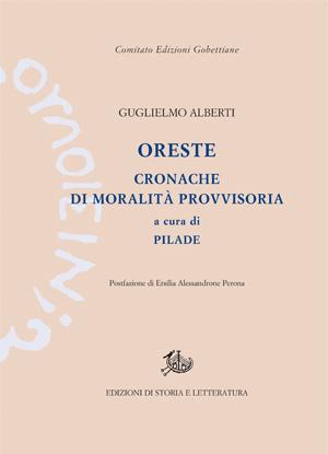 copertina di Oreste