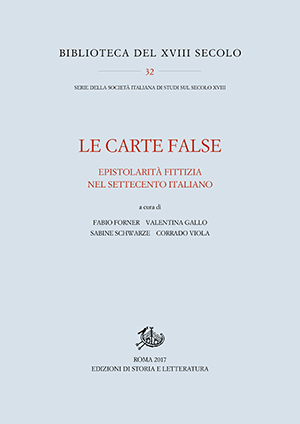copertina di Le carte false