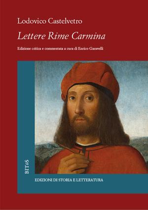 copertina di Lettere Rime Carmina