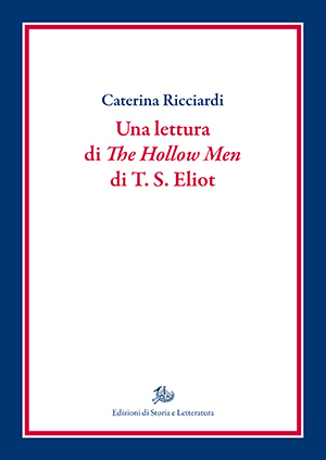 copertina di Una lettura di The Hollow Men di T. S. Eliot