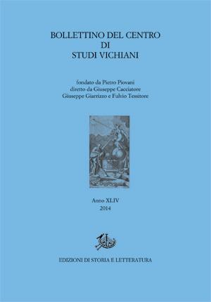 copertina di Bollettino del Centro di Studi Vichiani 44