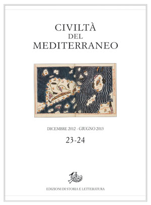 copertina di Civiltà del Mediterraneo, 23-24