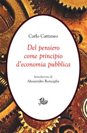 copertina di Del pensiero come principio d'economia pubblica