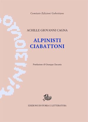 copertina di Alpinisti ciabattoni