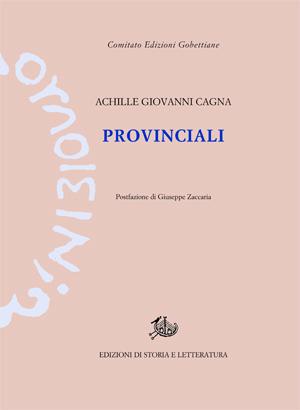 copertina di Provinciali