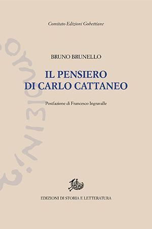 copertina di Il pensiero di Carlo Cattaneo