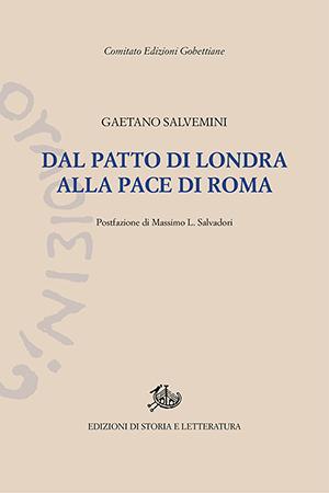 copertina di Dal Patto di Londra alla pace di Roma