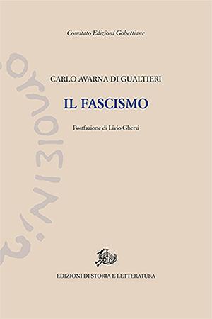 copertina di Il fascismo