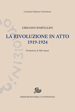 copertina di La rivoluzione in atto 1919-1924
