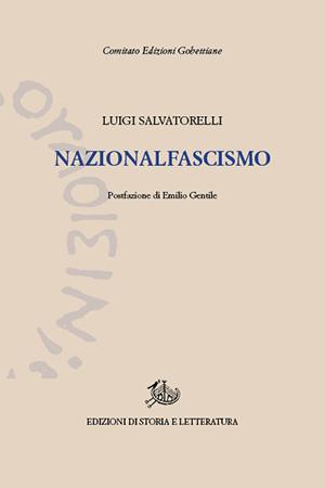 copertina di Nazionalfascismo