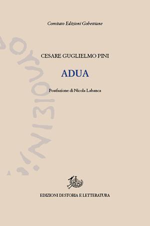 copertina di Adua