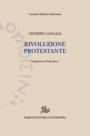 copertina di Rivoluzione protestante