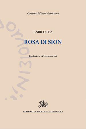 copertina di Rosa di Sion
