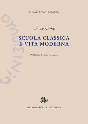 copertina di Scuola classica e vita moderna