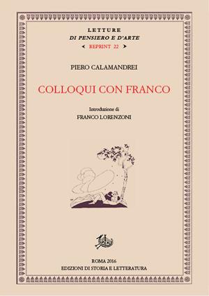 copertina di Colloqui con Franco