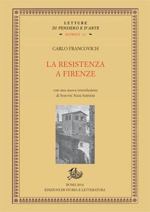 copertina di La Resistenza a Firenze