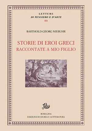 copertina di Storie di eroi greci raccontate a mio figlio