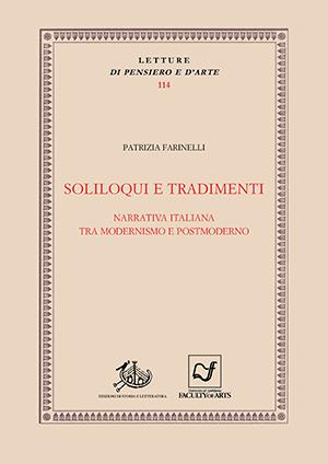 copertina di Soliloqui e tradimenti