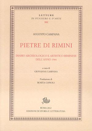 copertina di Pietre di Rimini