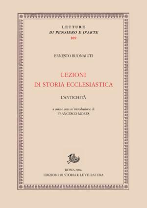 copertina di Lezioni di storia ecclesiastica