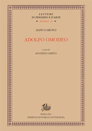 copertina di Adolfo Omodeo