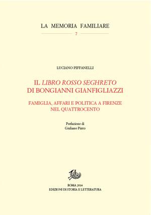 copertina di Il libro rosso seghreto di Bongianni Gianfigliazzi