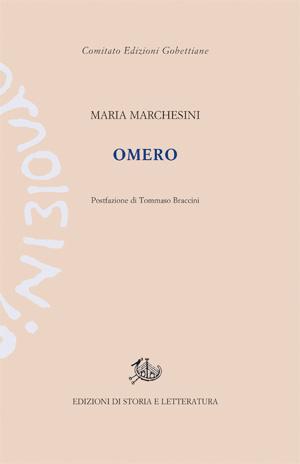 copertina di Omero
