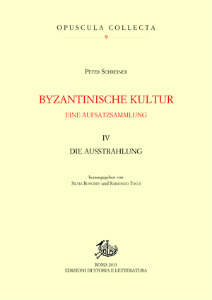 copertina di Byzantinische Kultur. IV. Eine Aufsatzsammlung