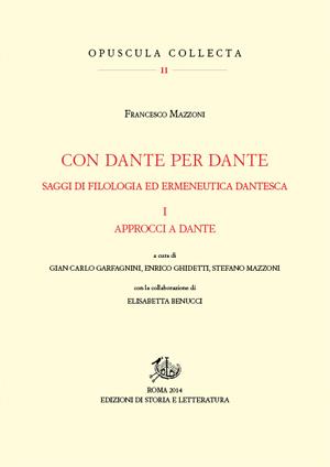 copertina di Con Dante per Dante. I