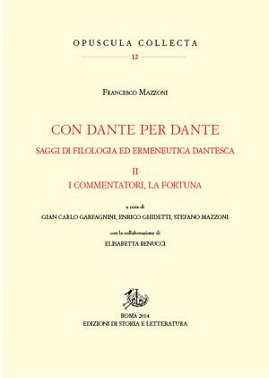 copertina di Con Dante per Dante. II