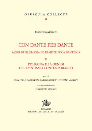 copertina di Con Dante per Dante. V
