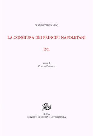 copertina di La congiura dei principi napoletani
