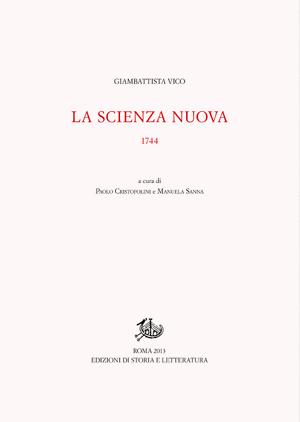 copertina di La Scienza nuova 1744