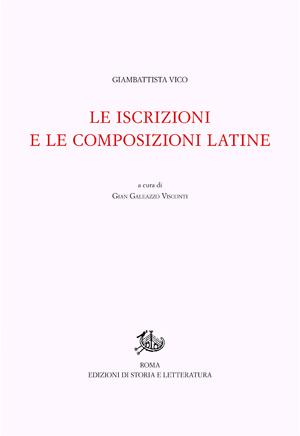 copertina di Le iscrizioni e le composizioni latine