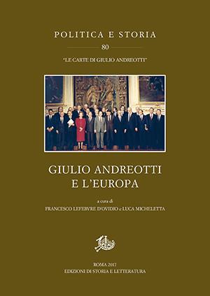 copertina di Giulio Andreotti e l'Europa