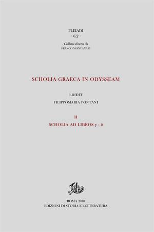 copertina di Scholia graeca in Odysseam. II