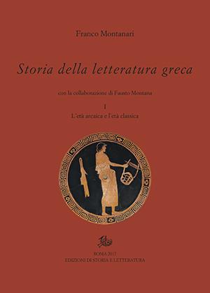 copertina di Storia della letteratura greca. I